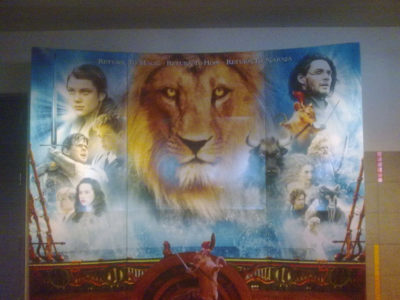 Narnia Movie Stand