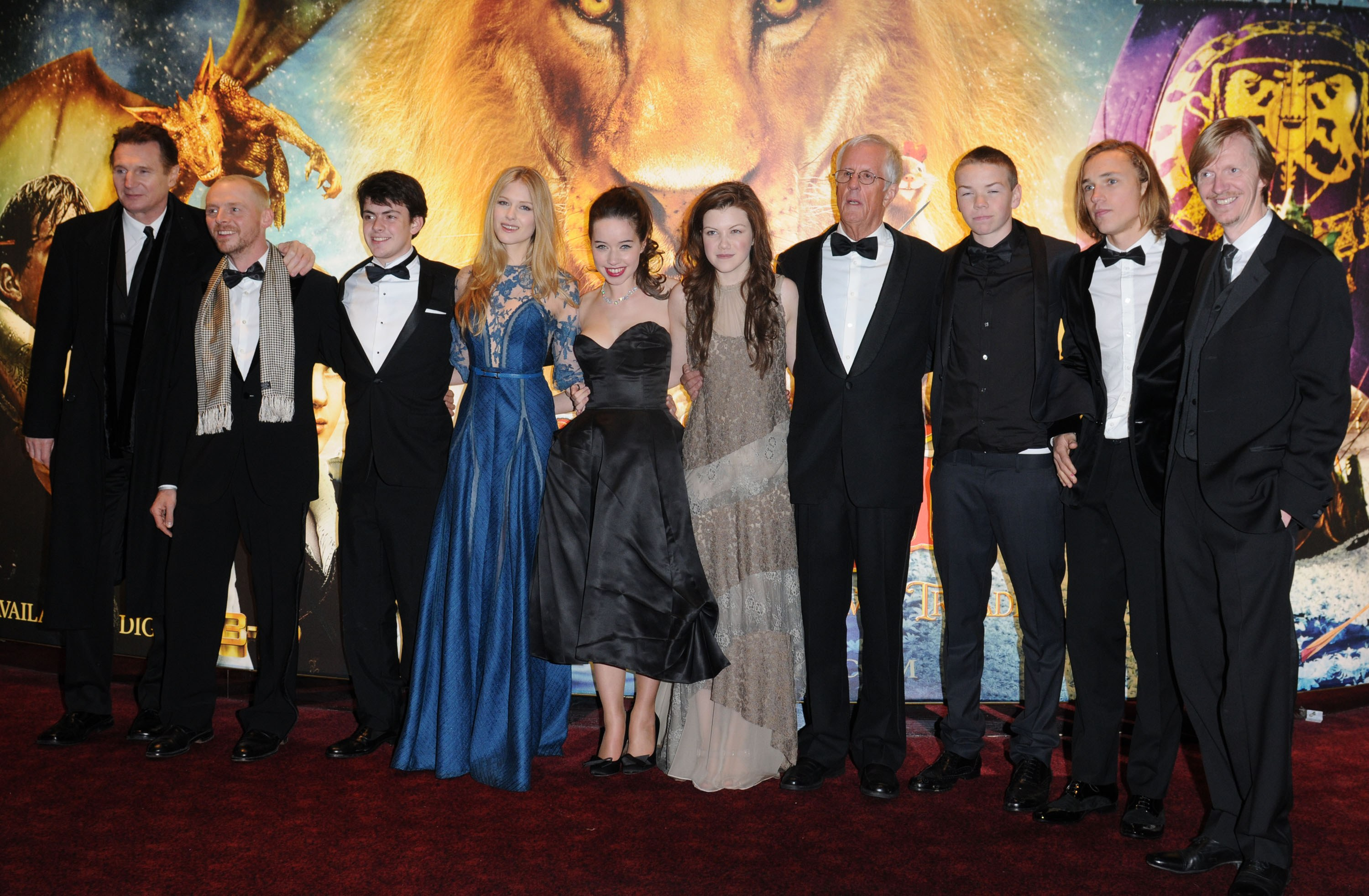 The World Premiere Of The Voyage Of The Dawn Treader Narniaweb