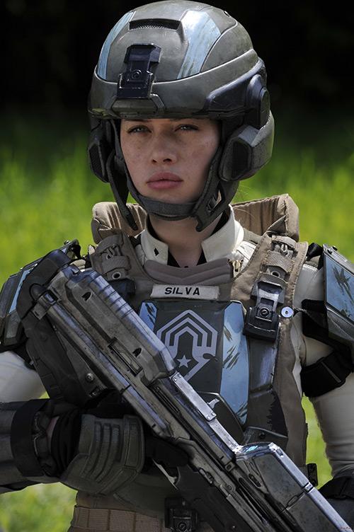 """Anna Popplewell in """"Halo: Forward Unto Dawn"""""""