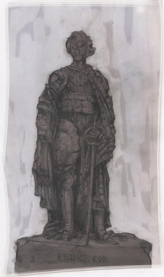 cor statue